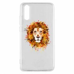 Чохол для Huawei P20 Lion Art - FatLine