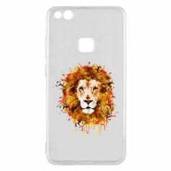 Чохол для Huawei P10 Lite Lion Art - FatLine