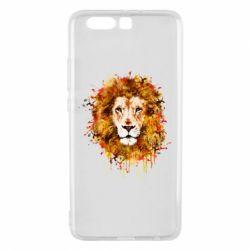 Чохол для Huawei P10 Plus Lion Art - FatLine