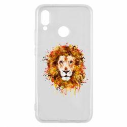 Чохол для Huawei P20 Lite Lion Art - FatLine