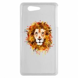 Чохол для Sony Xperia Z3 mini Lion Art - FatLine