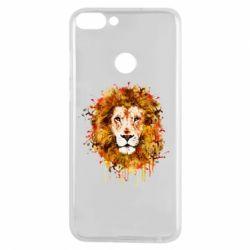 Чохол для Huawei P Smart Lion Art - FatLine