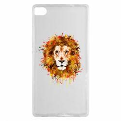 Чохол для Huawei P8 Lion Art - FatLine