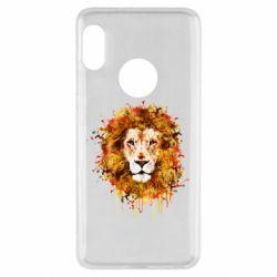 Чохол для Xiaomi Redmi Note 5 Lion Art - FatLine