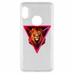 Чохол для Xiaomi Redmi Note 5 Lion art