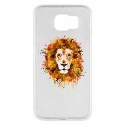Чохол для Samsung S6 Lion Art - FatLine