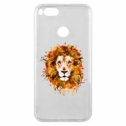 Чохол для Xiaomi Mi A1 Lion Art - FatLine