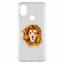 Чохол для Xiaomi Mi A2 Lion Art - FatLine