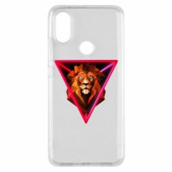 Чохол для Xiaomi Mi A2 Lion art