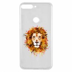 Чохол для Huawei Y7 Prime 2018 Lion Art - FatLine