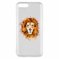 Чохол для Xiaomi Mi6 Lion Art - FatLine