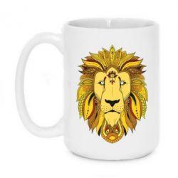 Кружка 420ml Lion art