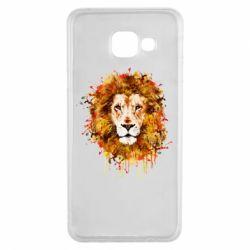Чохол для Samsung A3 2016 Lion Art - FatLine