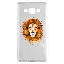 Чохол для Samsung A5 2015 Lion Art - FatLine