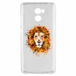Чохол для Xiaomi Redmi 4 Lion Art - FatLine
