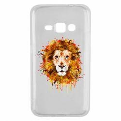 Чохол для Samsung J1 2016 Lion Art - FatLine