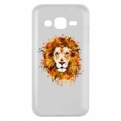 Чохол для Samsung J2 2015 Lion Art - FatLine