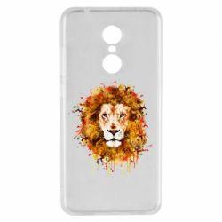 Чохол для Xiaomi Redmi 5 Lion Art - FatLine