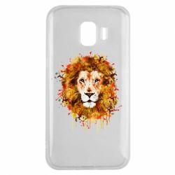 Чохол для Samsung J2 2018 Lion Art - FatLine