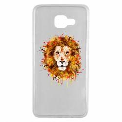 Чохол для Samsung A7 2016 Lion Art - FatLine