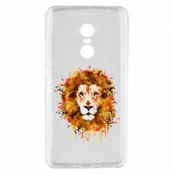 Чохол для Xiaomi Redmi Note 4 Lion Art - FatLine
