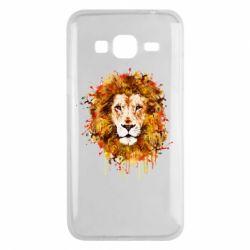 Чохол для Samsung J3 2016 Lion Art - FatLine