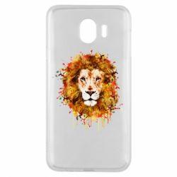 Чохол для Samsung J4 Lion Art - FatLine