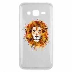 Чохол для Samsung J5 2015 Lion Art - FatLine