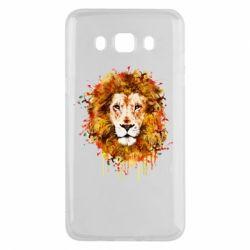 Чохол для Samsung J5 2016 Lion Art - FatLine
