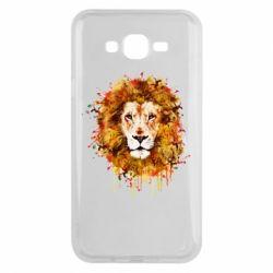 Чохол для Samsung J7 2015 Lion Art - FatLine