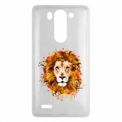 Чохол для LG G3 Mini/G3s Lion Art - FatLine