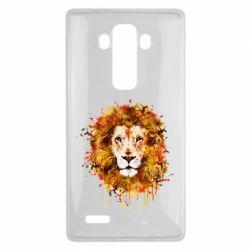 Чохол для LG G4 Lion Art - FatLine