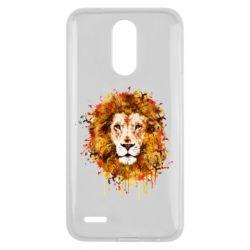 Чохол для LG K10 2017 Lion Art - FatLine