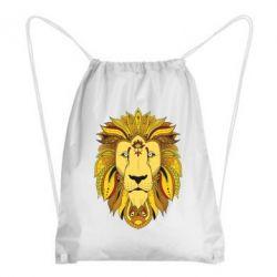 Рюкзак-мешок Lion art