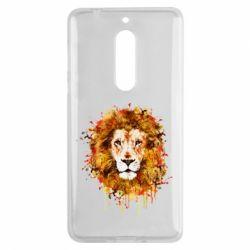 Чохол для Nokia 5 Lion Art - FatLine