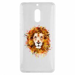 Чохол для Nokia 6 Lion Art - FatLine