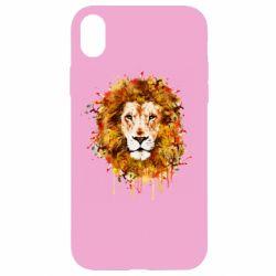Чохол для iPhone XR Lion Art - FatLine