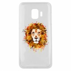 Чохол для Samsung J2 Core Lion Art - FatLine