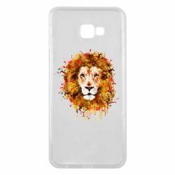 Чохол для Samsung J4 Plus 2018 Lion Art - FatLine