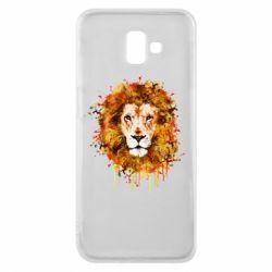 Чохол для Samsung J6 Plus 2018 Lion Art - FatLine