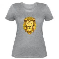 Женская футболка Lion art