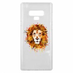 Чохол для Samsung Note 9 Lion Art - FatLine