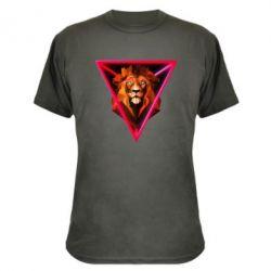 Камуфляжна футболка Lion art