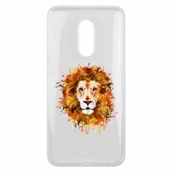 Чохол для Meizu 16 plus Lion Art - FatLine