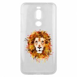Чохол для Meizu X8 Lion Art - FatLine