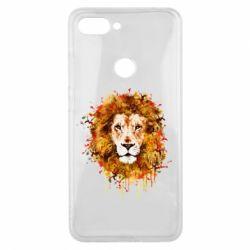 Чохол для Xiaomi Mi8 Lite Lion Art - FatLine