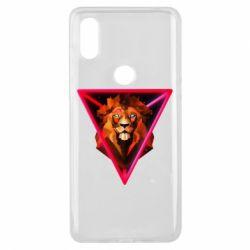 Чохол для Xiaomi Mi Mix 3 Lion art