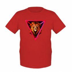 Детская футболка Lion art