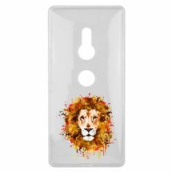 Чохол для Sony Xperia XZ2 Lion Art - FatLine