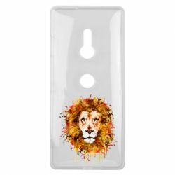Чохол для Sony Xperia XZ3 Lion Art - FatLine